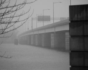 Unlike a bridge over...