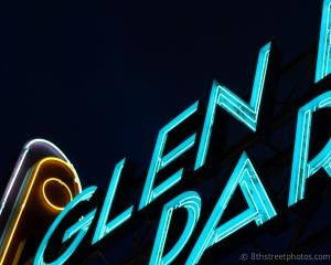 Glen Echo marquee b&w - 1 - 20140227-DSC_0053 -_