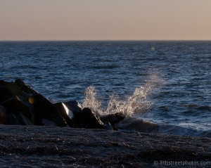backlit crashing wave - 20140320-DSC_0058 - 20140320_