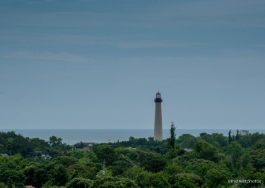 The lighthouse from the WWII fire tower