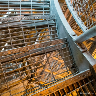 Fire tower stairs